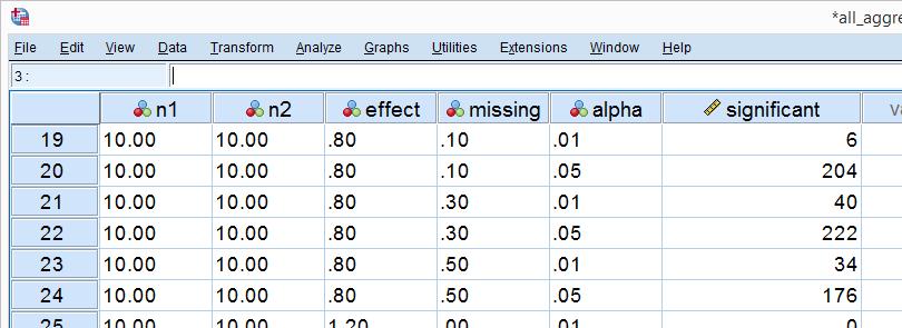 SPSS Python Hulp - Simulatiestudie