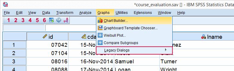 Training SPSS - Grafieken Maken