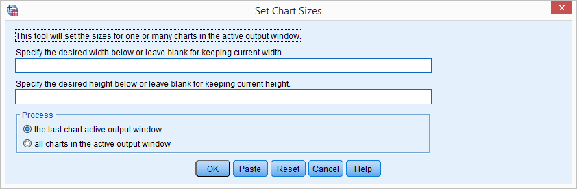SPSS Python Cursus - Voorbeeld Custom Dialog