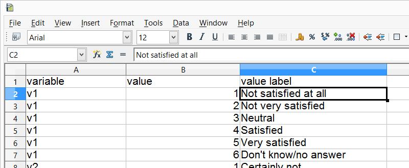 SPSS Python Hulp - Excel